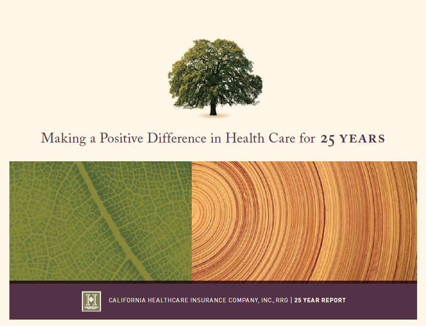 Optima 25 Year Report Cover image